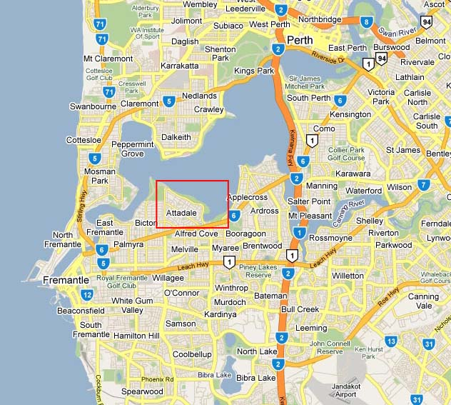 wilkins tourist maps map perth suburbs western australia there